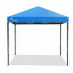 Red Track 3x3m Folding Gazebo Shade Outdoor Pop-Up Navy Foldable Marquee Blue