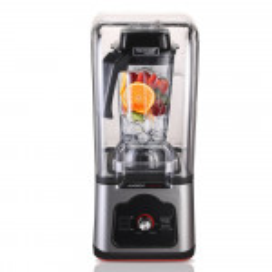 POLYCOOL Commercial Blender Quiet Enclosed Processor Smoothie Mixer Cafe Fruit