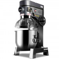 EuroChef Silver 30L Commercial Grade Planetary Mixer
