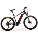 "PRE-ORDER VALK eMTB Maxxis Velo Shimano 36V 250W eBike Electric Mountain Bike  26"" Black - MX6"
