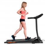 PROFLEX Electric Treadmill with Fitness Tracker Home Gym Exercise Equipment - TRX2 Elite