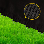UP-SHOT 10ft Replacement Trampoline Mat - 64 Spring Round Spare Foot Parts