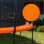 UP-SHOT 8ft Replacement Trampoline Padding - Pads Pad Outdoor Safety Round Orange