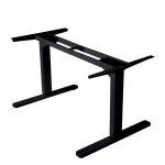 AVANTE Sit/Stand Height Adjustable Standing Desk Motorised Frame Black