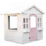 ROVO KIDS Cubby House Wooden Outdoor Playhouse Cottage Play Children Timber