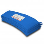 UP-SHOT 10ft Replacement Trampoline Padding - Pads Pad Outdoor Safety Round Blue
