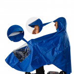 EQUIPMED Mobility Scooter Rain Cape Waterproof Cover Coat Poncho 3 & 4 Wheel
