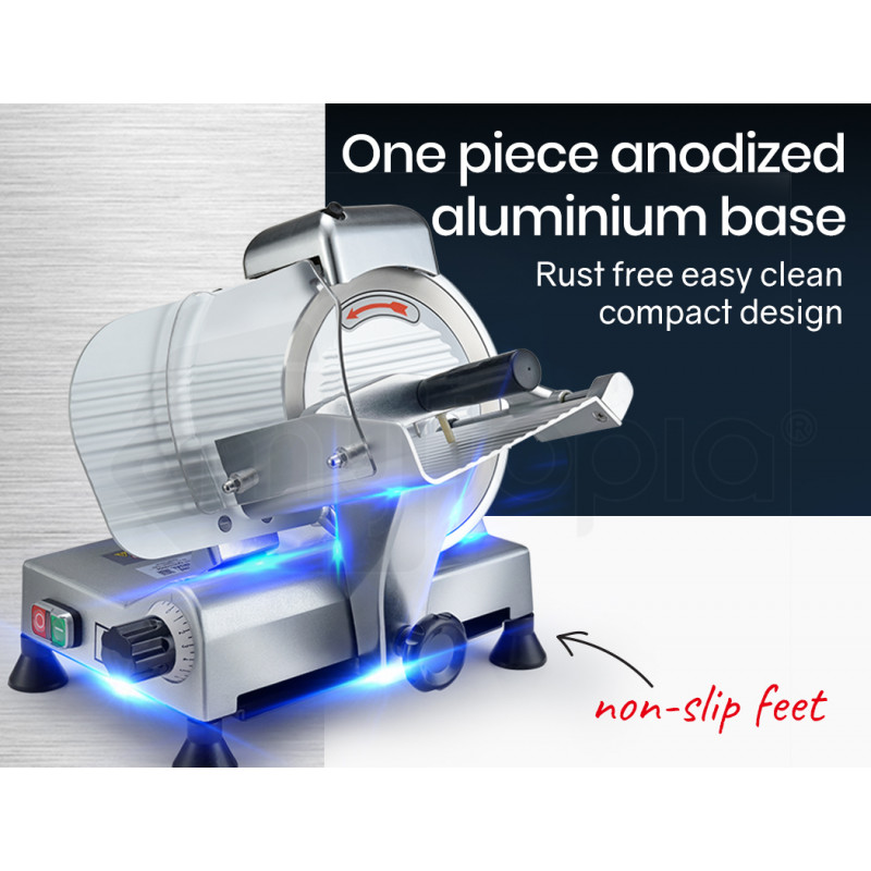 """EUROCHEF Commercial 8"""" Deli Meat Slicer Machine by EuroChef"""