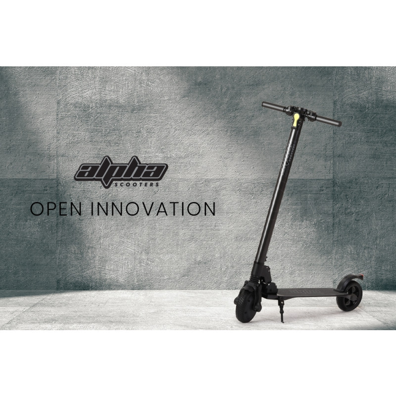 ALPHA 300W 10.4Ah Folding Carbon Electric Scooter by Alpha