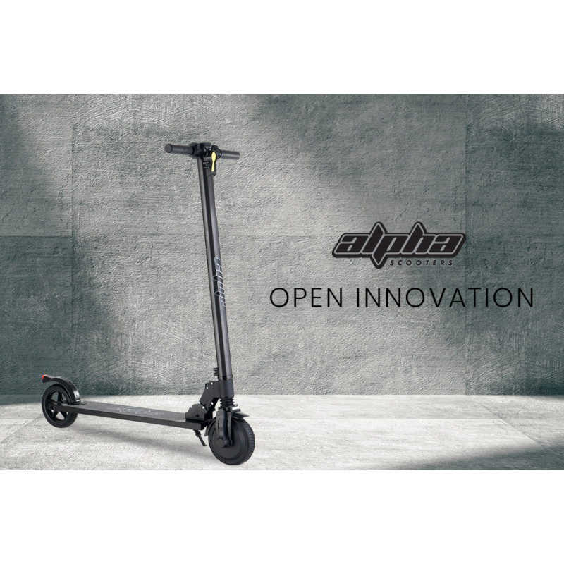 ALPHA 300W 8.8Ah Folding Carbon Electric Scooter Suspension by Alpha