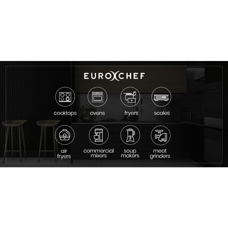 EUROCHEF 9L Sous Vide Precision Immersion Tank Cooker, with Rack, Tongs, 6 Preset Memory by EuroChef
