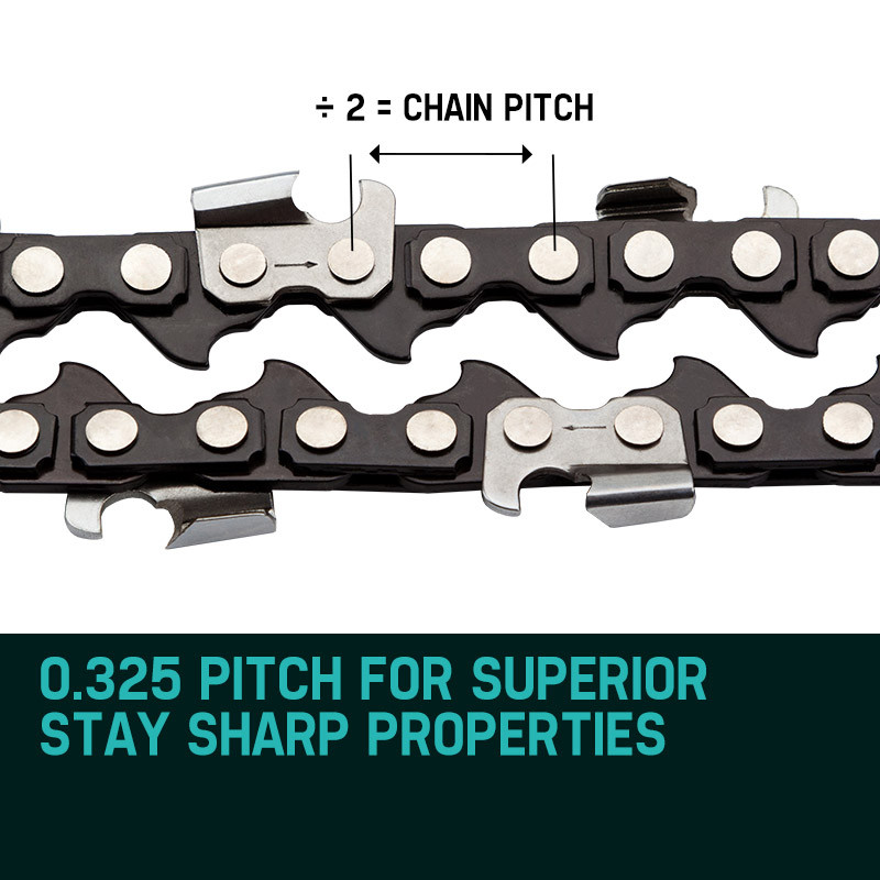 "Baumr-AG 2X 18"" Tru-Sharp Chainsaw Chain by Baumr-AG"