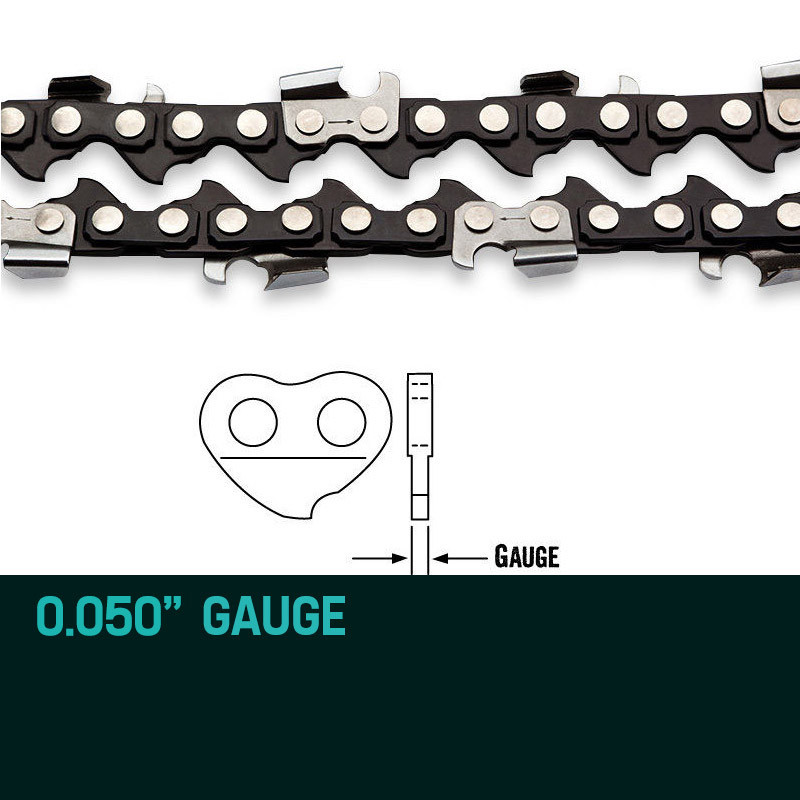 "Baumr-AG 10"" Premium 3/8"" Pitch Commercial Chainsaw Chain Replacement by Baumr-AG"