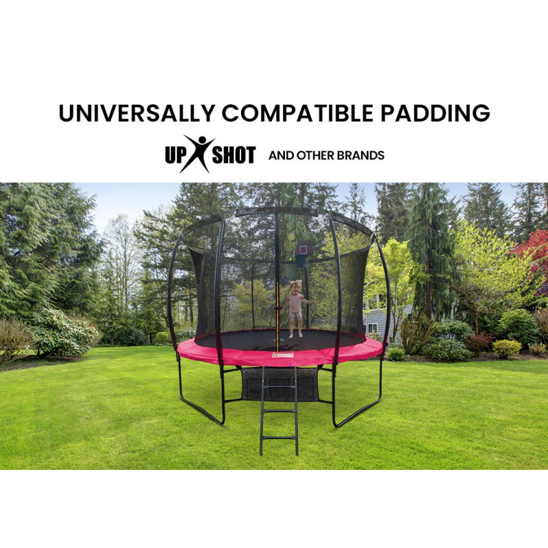 UP-SHOT 16ft Replacement Trampoline Safety Pad Padding Pink by Up-Shot