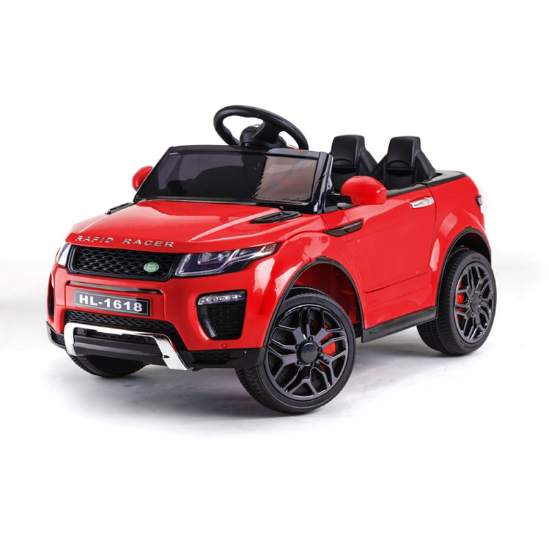 Rovo Kids Red Rapid Racer 12V Remote Control Electric Ride On Toy Cars by Rovo Kids