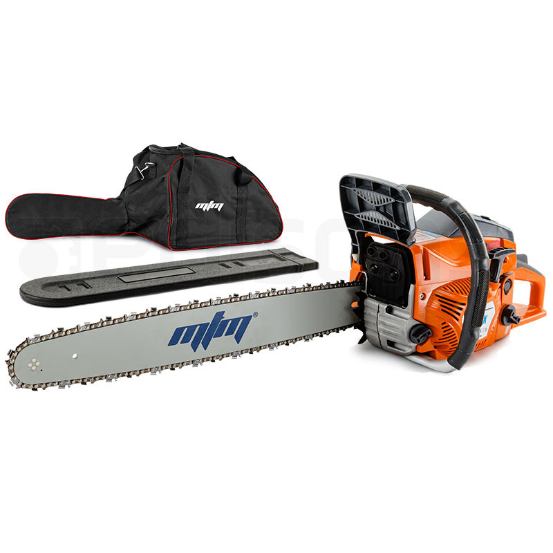 "MTM 22"" Bar E-Start System Commercial Petrol Chainsaw - 72SX by MTM"