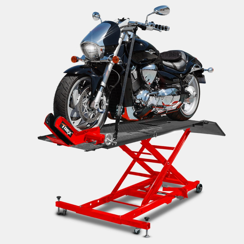 T-REX Hydraulic Motorcycle Lifter Motorbike Lift Stand Table Jack Hoist Bike by T-Rex
