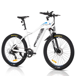 "VALK eMTB Maxxis Velo Shimano 36V 250W Electric Mountain Bike eBike 26"" White - MX6  by Valk"