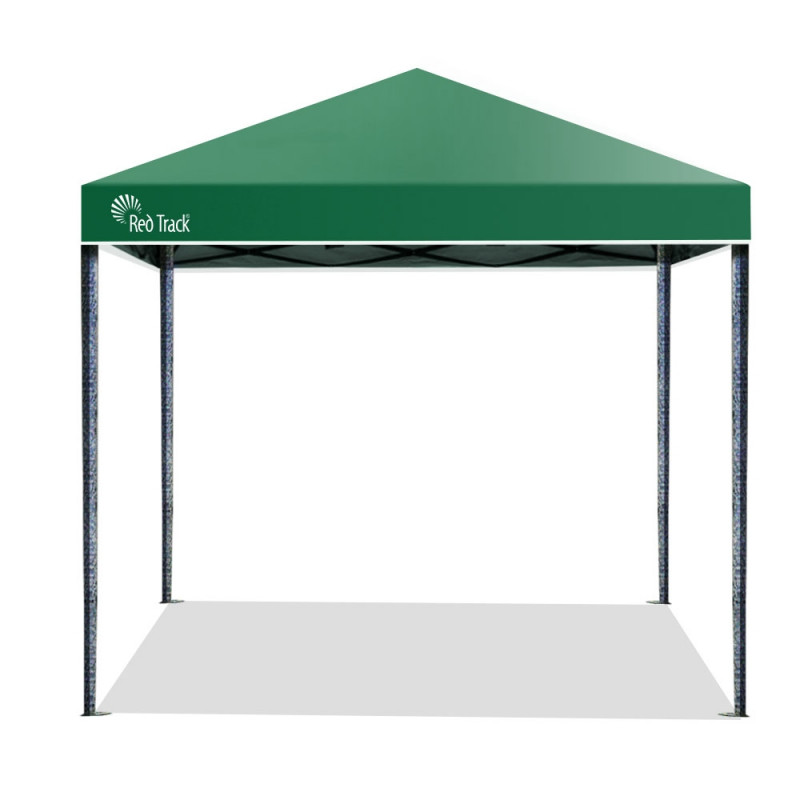 Red Track 3x3m Folding Gazebo Shade Outdoor Pop-Up Green Foldable Marquee by Red Track