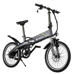 Charcoal 20 36v Folding Electric Bike Nishiro Mytopia