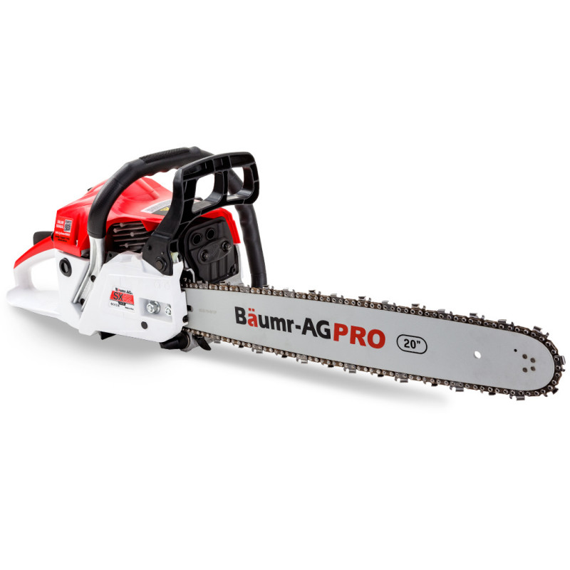 "Baumr-AG 52cc 20"" Bar E-Start Commercial Petrol Chainsaw SX52 by Baumr-AG"