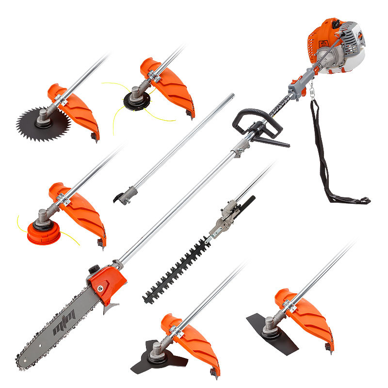 MTM Pole Chainsaw Brush Cutter Whipper Snipper Hedge Trimmer Saw Multi Tool 62CC by MTM