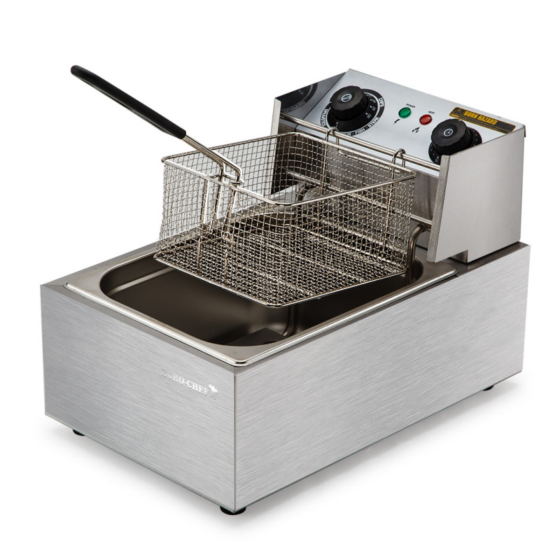 EuroChef Commercial Electric Deep Fryer Frying Basket Chip Cooker Fry Scoop by EuroChef