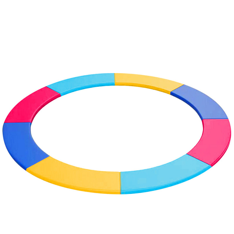 UP-SHOT 16ft Replacement Trampoline Safety Pad Padding Multi-Coloured by Up-Shot
