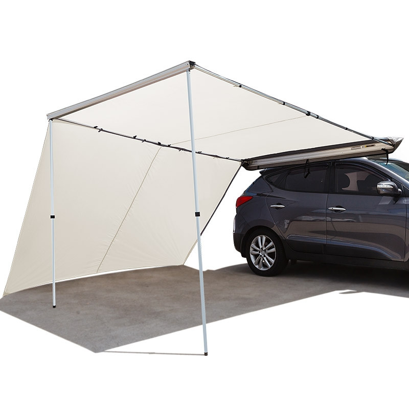 BULLET 4WD Roof Rack Car Awning & Extension 2.5mx3m Pull-Out 4X4 Tent Side Shade by Bullet Off Road