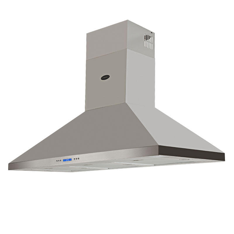 EuroGrille 1500mm Stainless Steel Wall Mount Alfresco Rangehood by EuroGrille