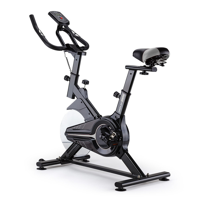 PROFLEX Spin Bike Flywheel Commercial Gym Exercise Home Fitness Grey by Proflex