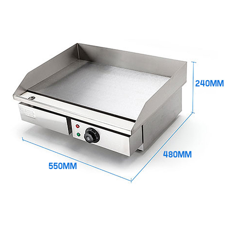 THERMOMATE Electric Griddle Grill BBQ Hot Plate Commercial Stainless Steel by Thermomate