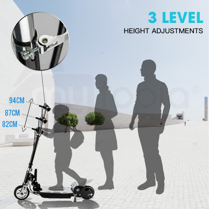 BULLET TRZ Electric Scooter 140W Adjustable and Foldable for both Adults / Kids by Bullet