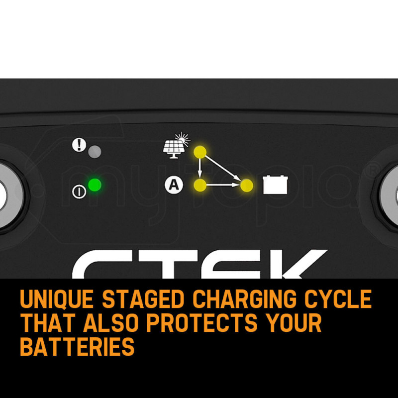 CTEK Dual Input D250SE Charger + X-CELL Deep Cycle 230A AGM Battery Bundle by X-Cell