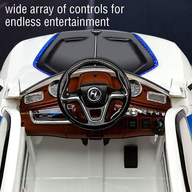 Rovo Kids BMW i8 Inspired Concept 12V Electric Kids Ride On Cars by Rovo Kids