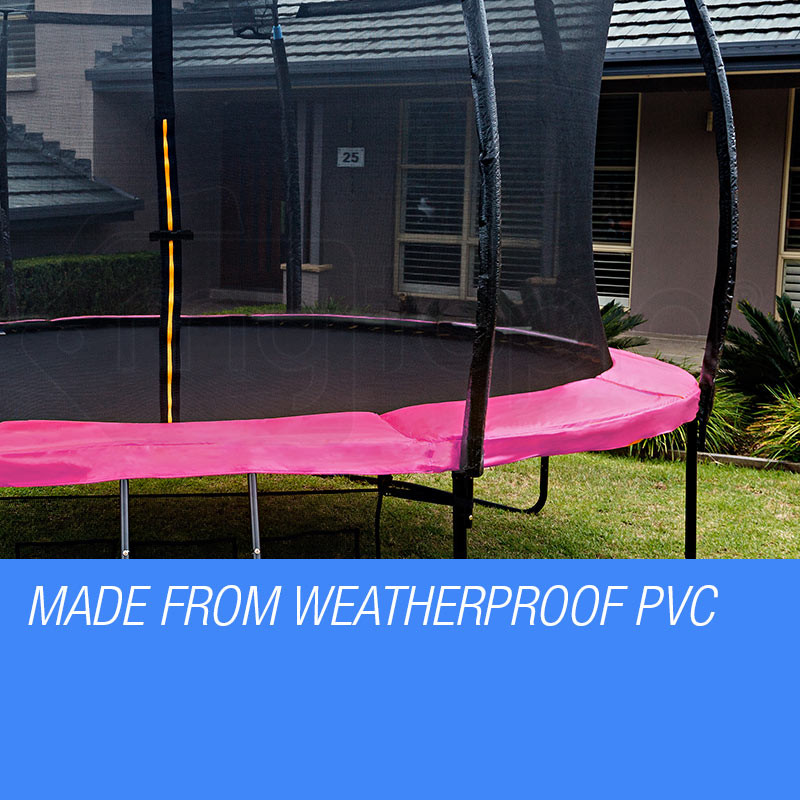 UP-SHOT 14ft Replacement Trampoline Pad Reinforced Springs Outdoor Safety Round by Up-Shot