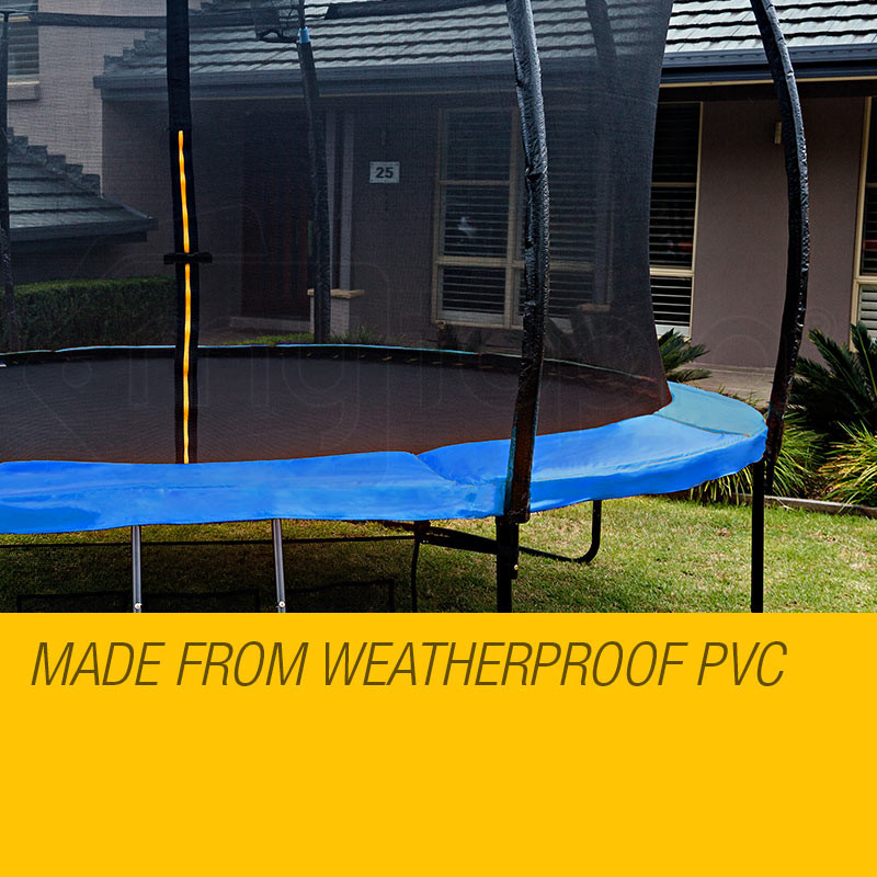 UP-SHOT 8ft Replacement Trampoline Padding - Pads Pad Outdoor Safety Round Blue by Up-Shot