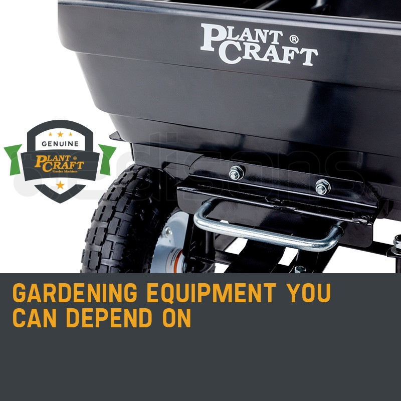 PLANTCRAFT 250kg Poly Pull Dump Cart Garden Hand Trailer Wagon Lawn Wheelbarrow  by PlantCraft