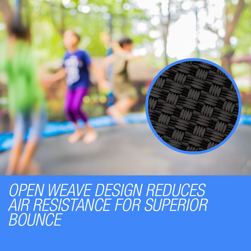 UP-SHOT 16ft Round 108 Spring Loops Inside Net Design Replacement Trampoline Mat by Up-Shot