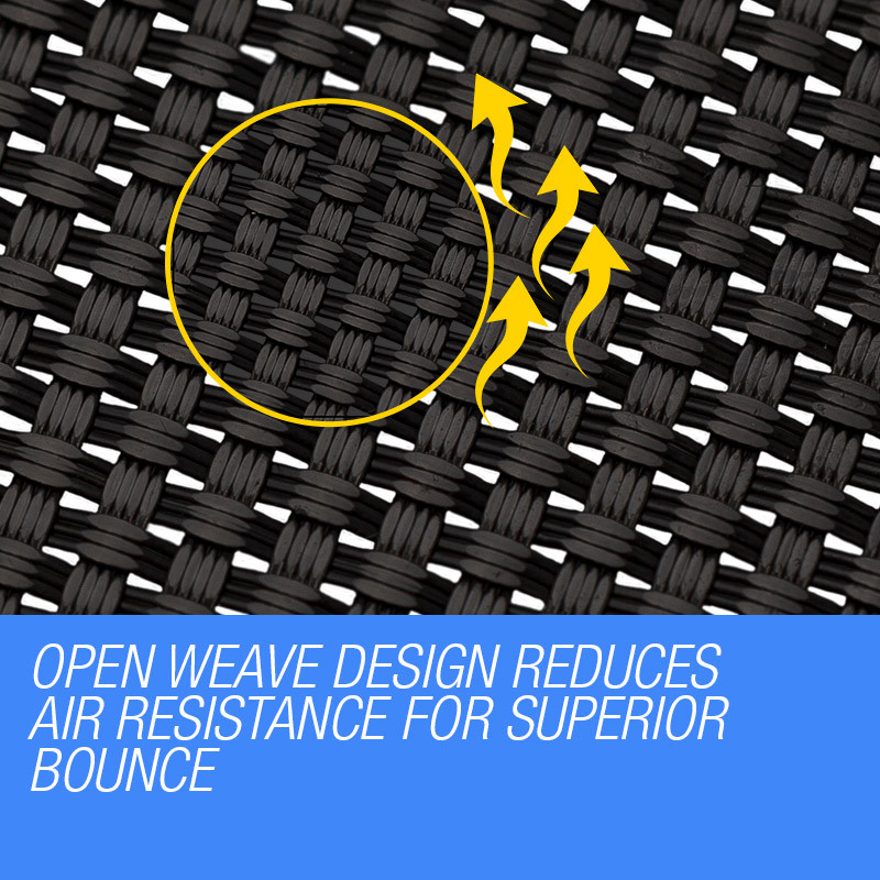 UP-SHOT 8ft Round 48 Spring Loops Inside Net Design Replacement Trampoline Mat by Up-Shot