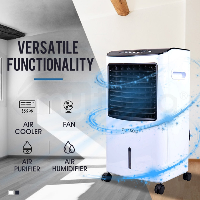 CARSON 4in1 Evaporative Air Cooler Portable Fan Purifier Humidifier Cooling by Carson