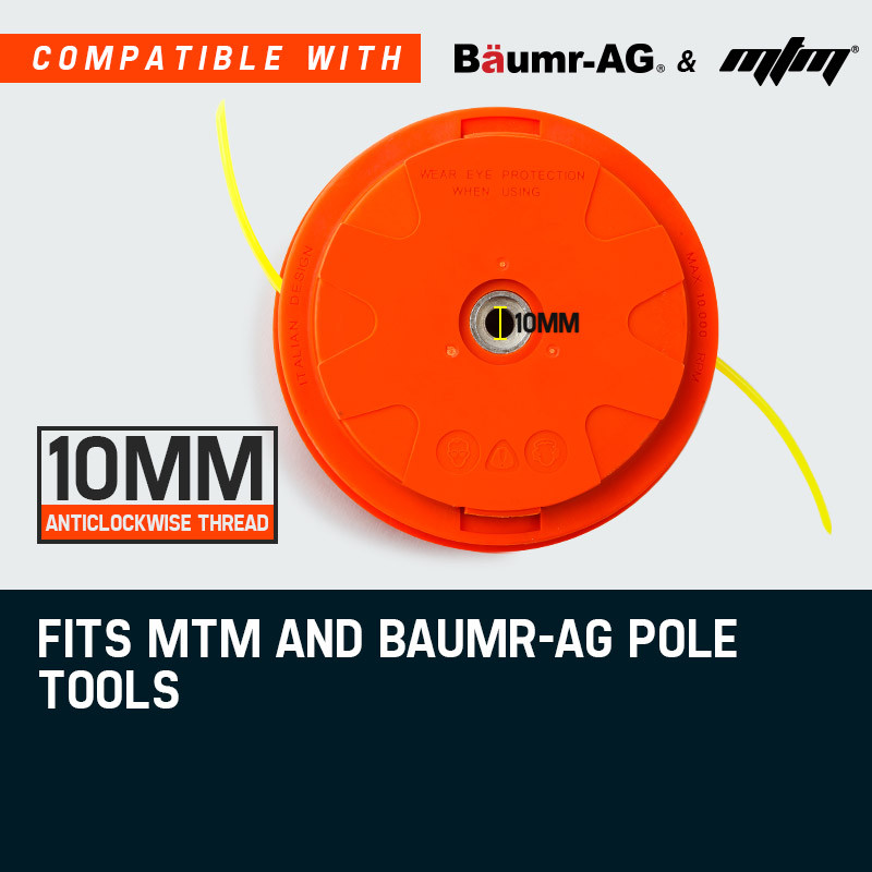 MTM Twister  Bump Feed Whipper Snipper Head Replacement by MTM