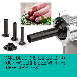 EuroChef Meat Grinder Electric Commercial Mincer Sausage Filler Kebbe Maker by EuroChef
