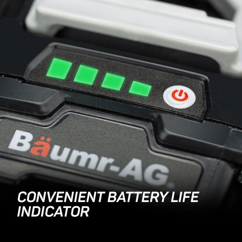 Baumr-AG 40V 2.0Ah Lithium-Ion Battery E-Force 400 Series Spare Replacement by Baumr-AG