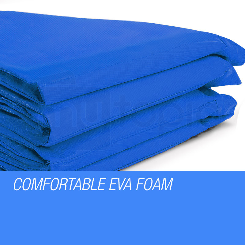 UP-SHOT 10ft Replacement Trampoline Padding - Pads Pad Outdoor Safety Round Blue by Up-Shot