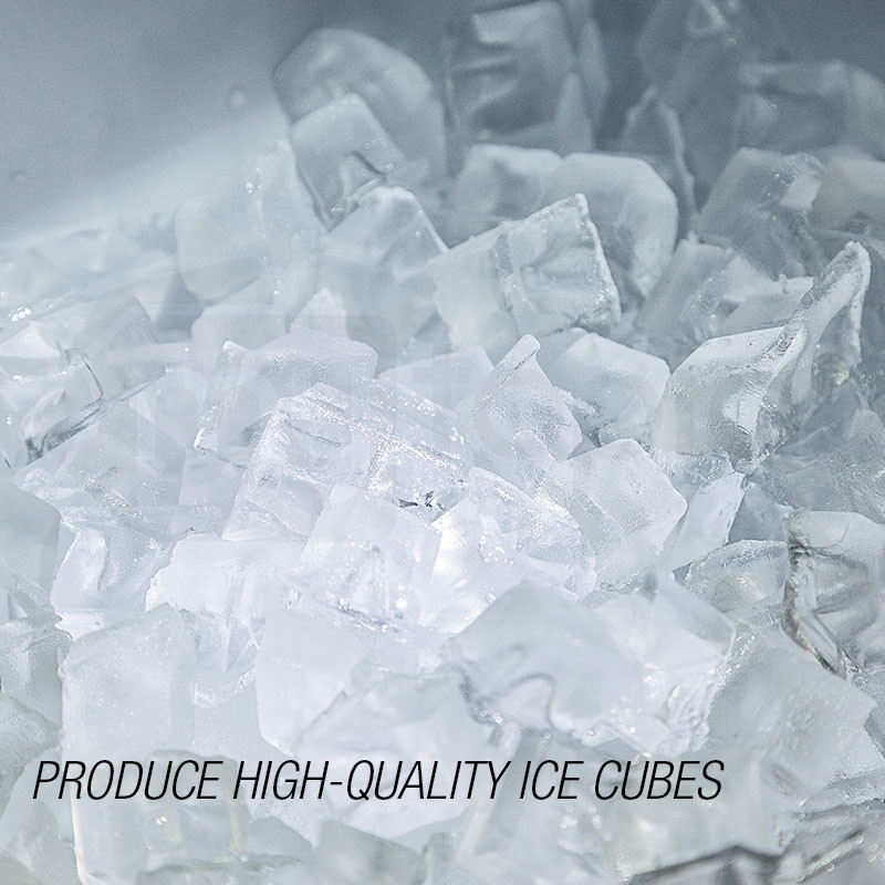 POLYCOOL Commercial Ice Cube Maker Machine Fridge Home Bar Freezer 45-65kg/Day  by PolyCool