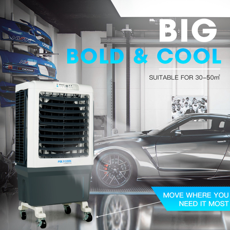 POLYCOOL 4in1 40L 220W Commercial Portable Evaporative Cooler  by PolyCool