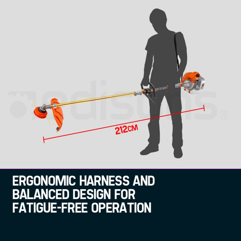 MTM 62CC Pole Chainsaw Hedge Trimmer Brush Cutter Whipper Snipper Multi Tool Saw by MTM