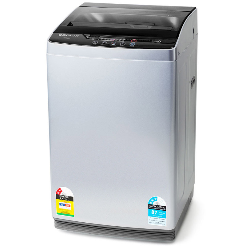 CARSON Washing Machine 7kg Platinum Automatic Top Load Home Dry Wash by Carson