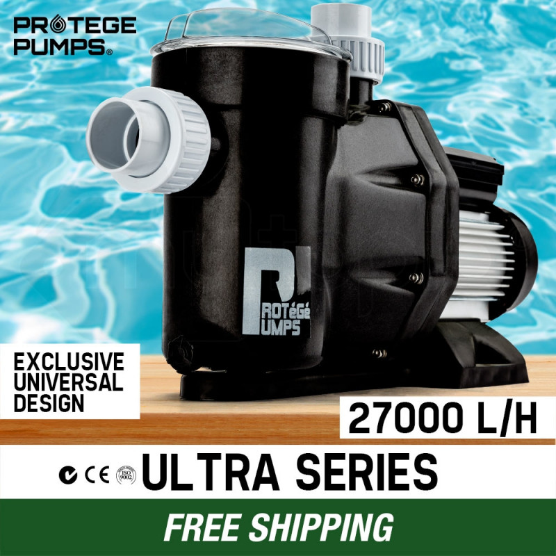 PROTEGE Swimming Pool Pump Water 1200W 1.6HP Self Priming Filter Electric Spa by Protege